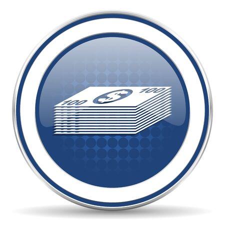 cash money: money icon, cash symbol Stock Photo