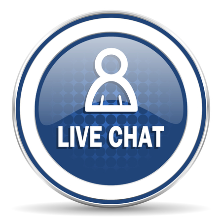 Chatter: live chat icon