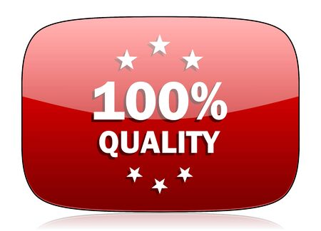 quality red glossy web icon photo