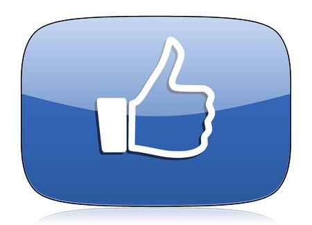 like icon thumb up sign photo