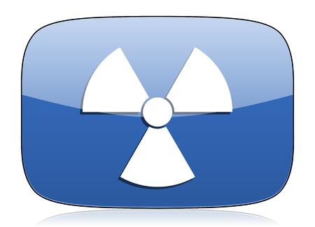 radiation icon atom sign photo