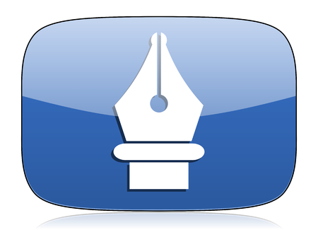 pen icon: pen icon
