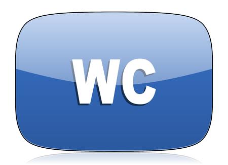 wc: Toilette WC Symbol Zeichen