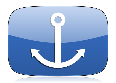 anchor icon sail sign photo