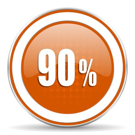90: 90 percent orange icon