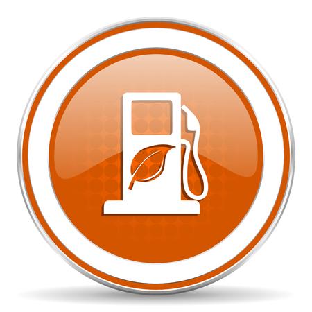 canola: bio fuel orange icon