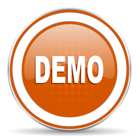demo: demo orange icon