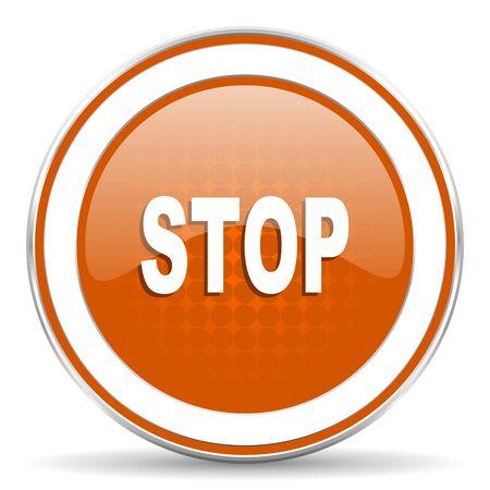proscribed: stop orange icon