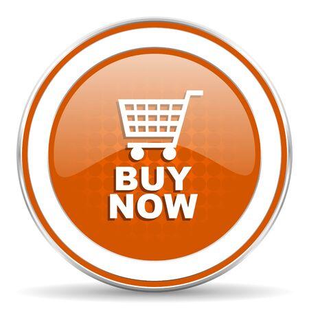 buy now: buy now orange icon