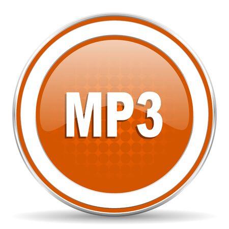 mp3: mp3 orange icon