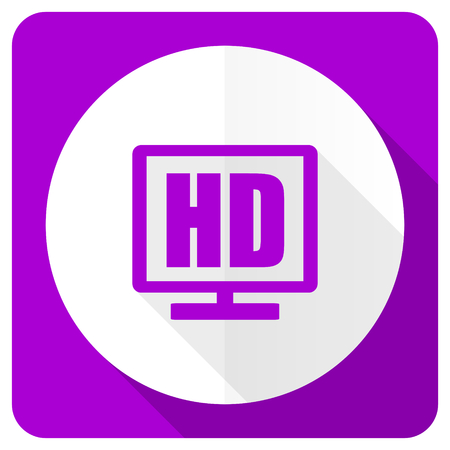 display: hd display pink flat icon