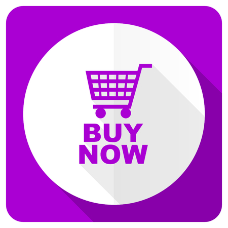 buy now: buy now pink flat icon