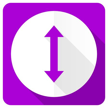 sterring: arrow pink flat icon