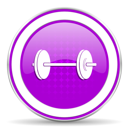 violet icon: fitness violet icon