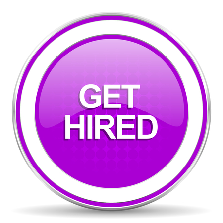 violet icon: get hired violet icon