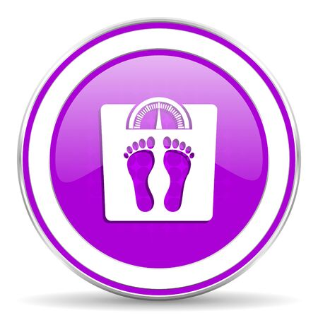 violet icon: weight violet icon
