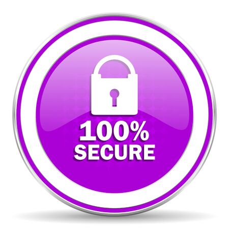 secure: secure violet icon