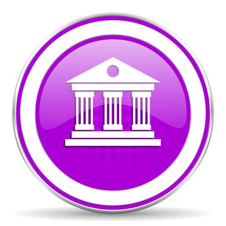 violet icon: museum violet icon