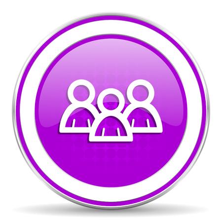 violet icon: forum violet icon