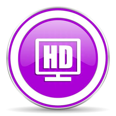 display: hd display violet icon