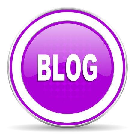 violet icon: blog violet icon