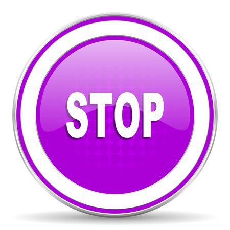 proscribed: stop violet icon