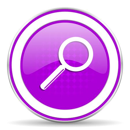 violet icon: search violet icon