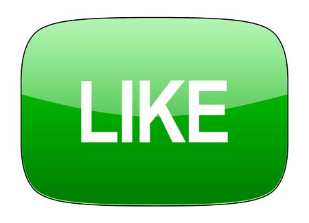 i like: like green icon