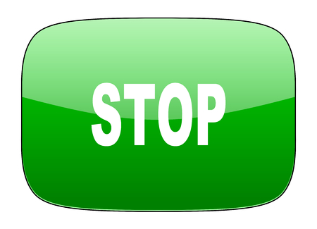 proscribed: stop green icon