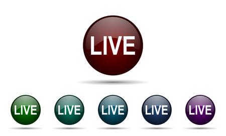 news cast: live icon
