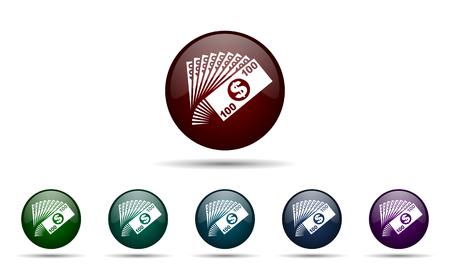 money icon cash symbol photo