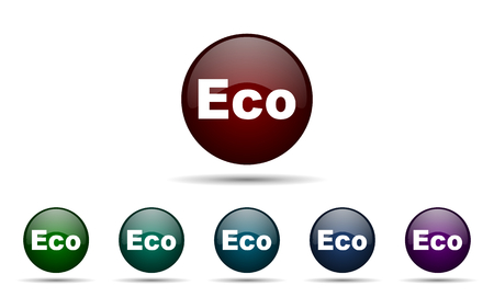 ecological: eco icon ecological sign