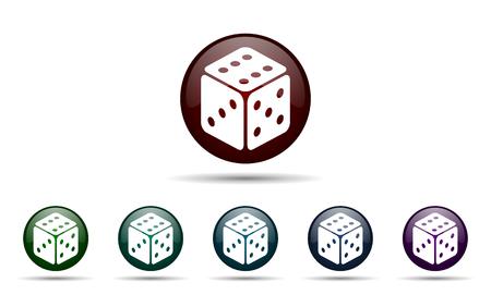 hazard sign: casino icon hazard sign