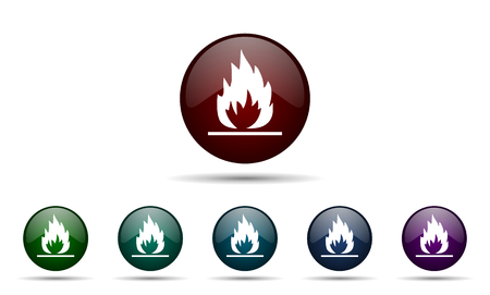 inflammable: flame icon