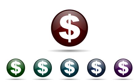 dollar icon: dollar icon us dollar sign
