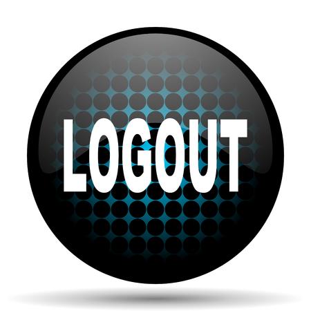 Log Out: logout icon