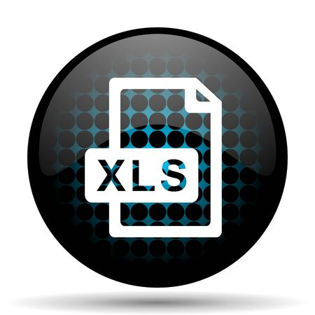 bibliography: xls file icon Stock Photo