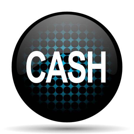 cash icon: cash icon Stock Photo