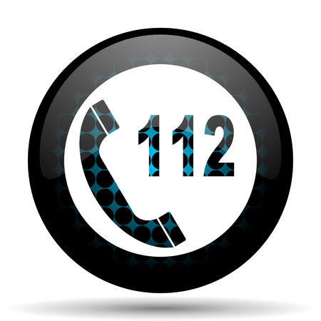 emergency call: emergency call icon 112 call sign