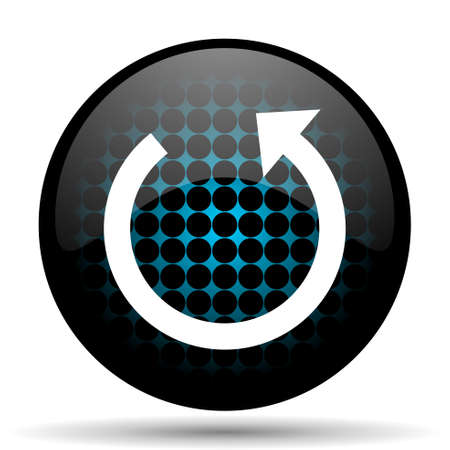 rotate icon: rotate icon reload sign Stock Photo