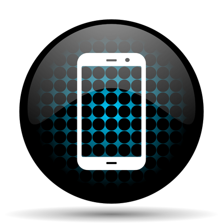 technological and communication: smartphone icon phone sign Stock Photo