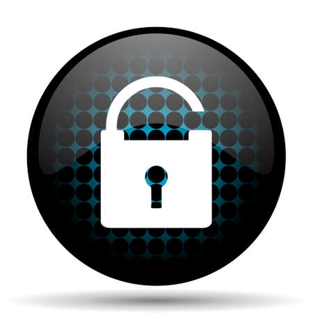 security icon: padlock icon secure sign