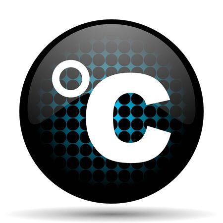 celcius: celsius icon temperature unit sign Stock Photo
