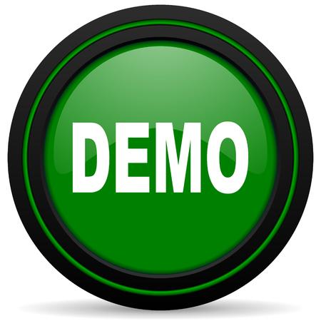 demo: demo green icon
