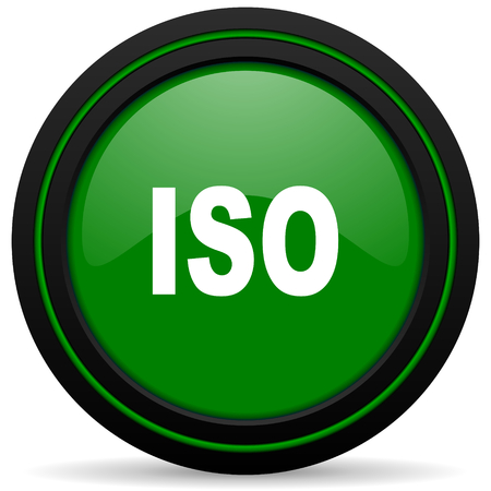 iso: iso green icon