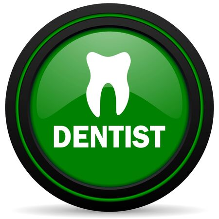 dentist green icon photo
