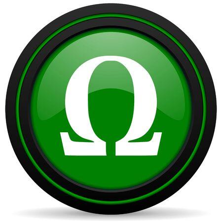 omega: omega green icon