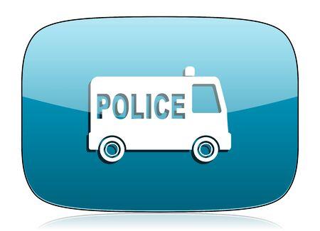 police icon: police icon Stock Photo