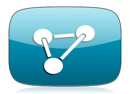 chemistry icon molecule sign photo