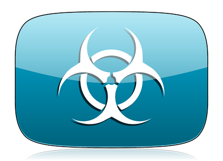 biohazard icon virus sign photo